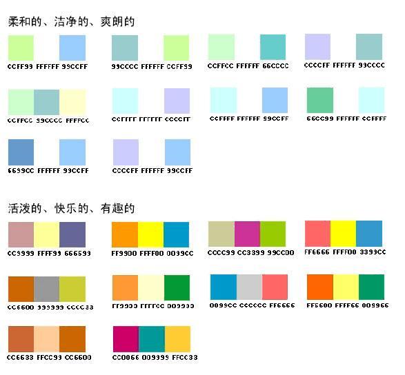 设计模板时色彩搭配的注意事项